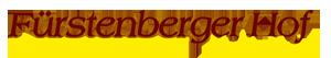 Fürstenberger Hof Logo